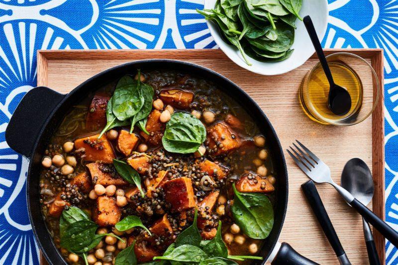 vegan winter recepten - winter recepten - vegan recepten - herfst recepten - winter recept - vegan winter recept - stoofpot recept - stoofpotje recept