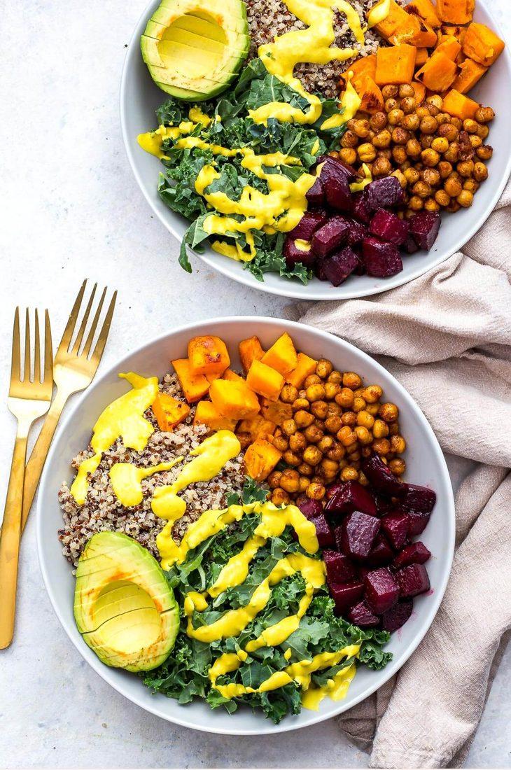 vegan buddha bowl quinoa - vegan recepten makkelijk