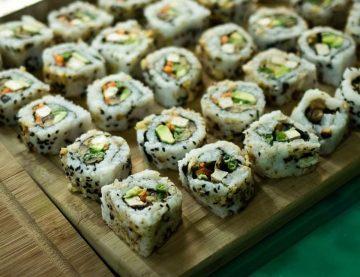 vegan sushi - vegan sushi amsterdam - vegan restaurant - veganistische sushi