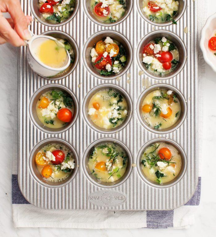 hartige muffins - muffins gerechten - muffins recepten - fritatta recepten - recepten met groenten