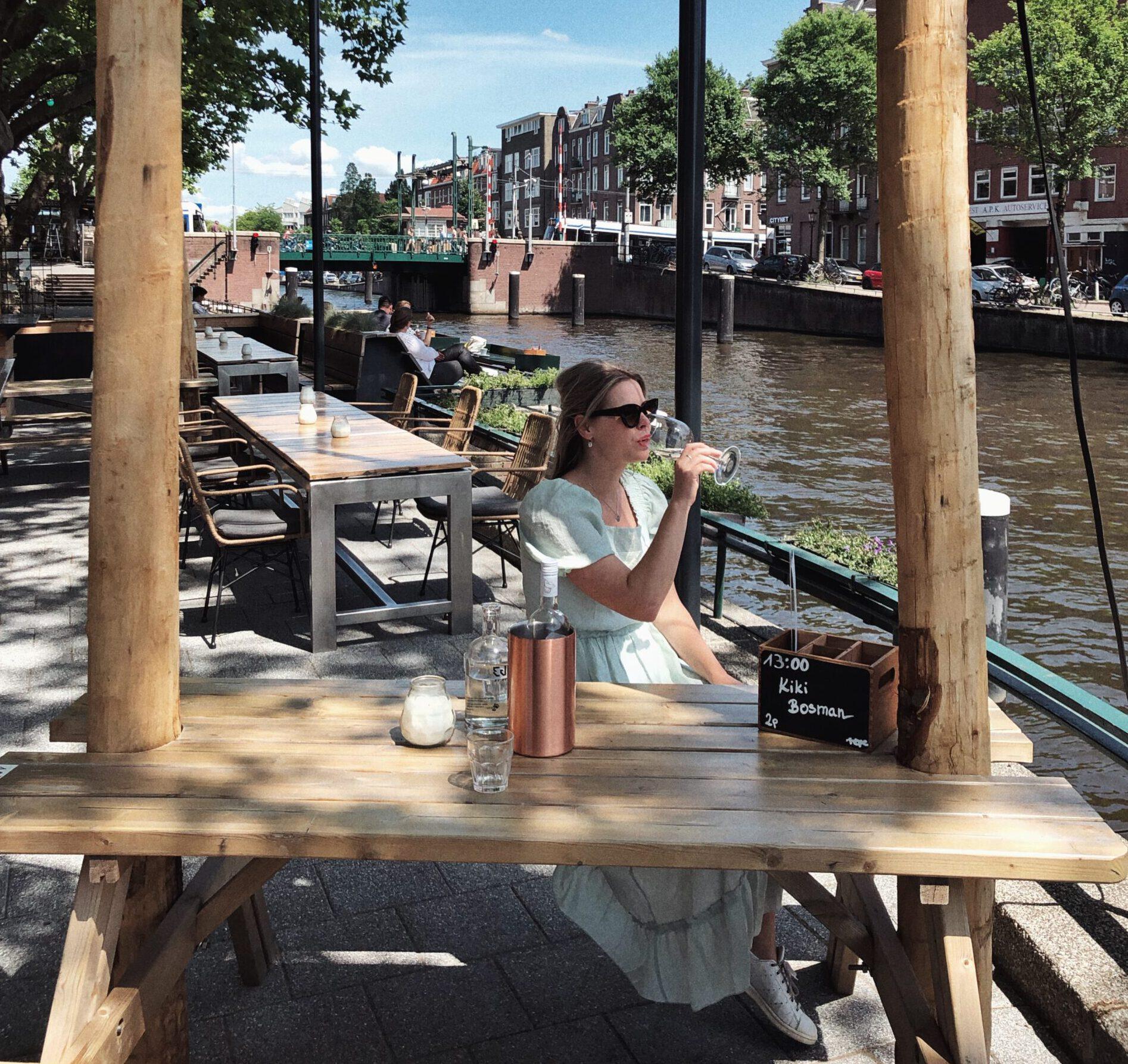 grote terrassen amsterdam - terrassen amsterdam - borrelen amsterdam - terras amsterdam - lunch - diner - borrel - hotspots amsterdam