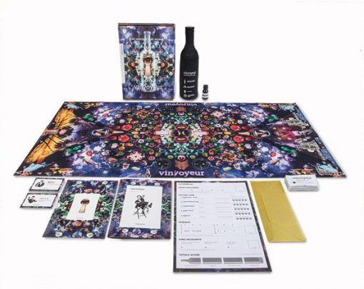 wijnspel - vin voyeur - wijnkennis - wijnkenner - wijnkenners - spel - drankspel wijn