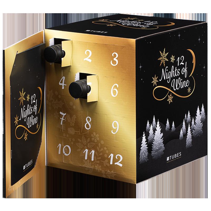 wijn adventskalender 2020 - drank adventskalenders - aftelkalenders - originele adventskalenders - adventskalenders voor foodies - adventskalenders gevuld met drank -
