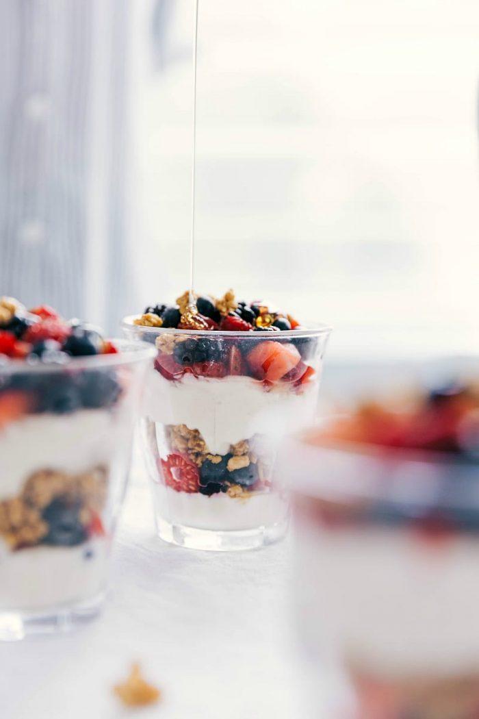yoghurt recepten - yoghurt gerechten - parfait