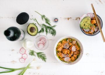 poke bowl recepten - gezonde recepten - poke bowl met zalm - poke bowl pernod - pernod - poké bowl zalm