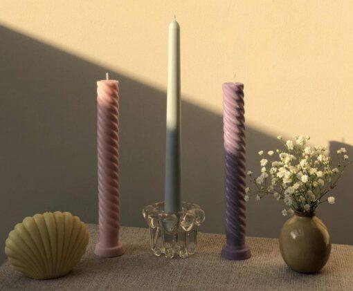 zelf kaarsen maken - diy kaarsen - kaarsen maken - gedraaide kaarsen - tiktak kaarsen - thuis kaarsen maken - hoe maak ik kaarsen - hoe maak ik een kaars - kaars maken